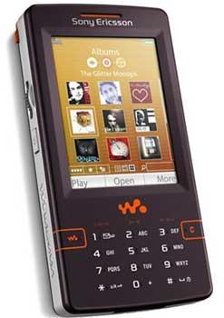 foto del cellulare Sony Ericsson W950