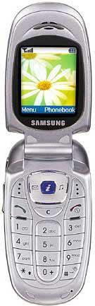 foto del cellulare Samsung X480