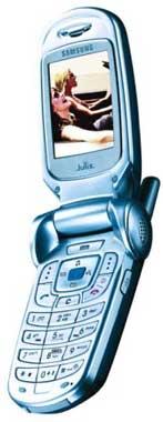 foto del cellulare Samsung X900