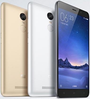 foto del cellulare Xiaomi Redmi Note 3