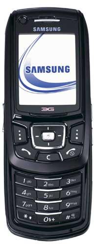foto del cellulare Samsung Z400