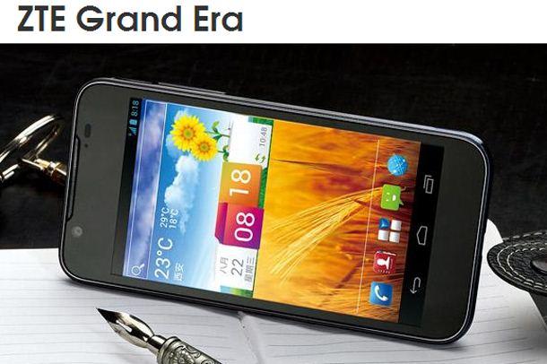 foto del cellulare Zte Grand Era