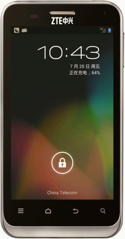 foto del cellulare Zte N880E