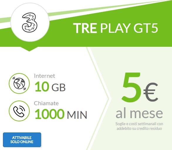 Tre: tariffe Tre, offerte e promozioni Tre.