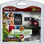 MicroSD PNY Limited Edition 2 GB