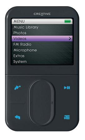 Lettore mp3 Creative ZEN VisionM 60GB