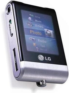Lettore mp3 LG MF-FM30E