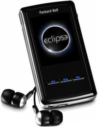Lettore mp3 PackardBell Eclipse