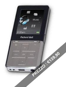 Lettore mp3 PackardBell VIBE 360