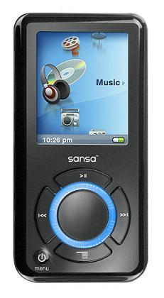 Lettore mp3 Sandisk SANSA e250