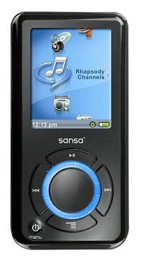 Lettore mp3 Sandisk SANSA e250R Rhapsody