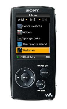 Lettore mp3 Sony Walkman NW-A808