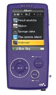 Lettore mp3 Sony Walkman NWZ-A818