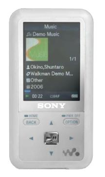 Lettore mp3 Sony Walkman NWZ-S618F