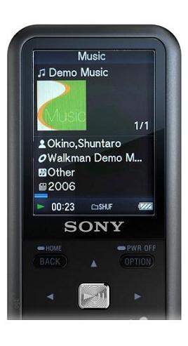 Lettore MP3 Sony NZW-S618F