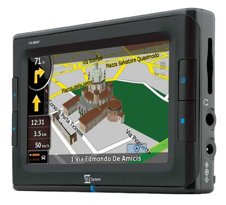 TeleSystem Nav con Tv