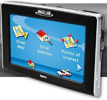 Navigatore GPS Magellan Maestro 4245