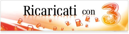 Ricaricati Con Tre - lo slogan