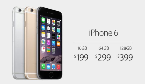 Apple presenta iPhone 6 e iPhone 6 Plus