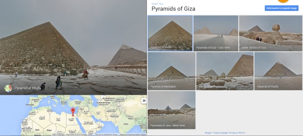 Giza su Google Street View