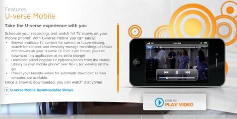 U-Verse di AT&T