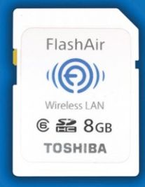Toshiba FlashAir WLAN