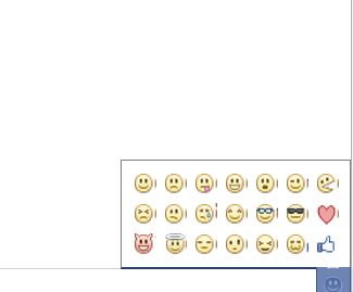 Emoticons su Facebook