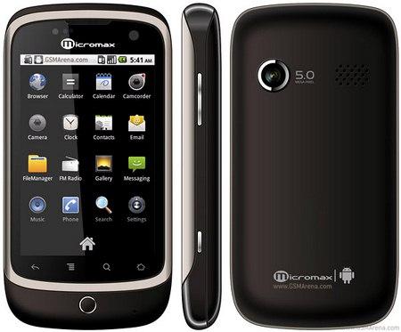 Micromax A70: smartphone Android economico