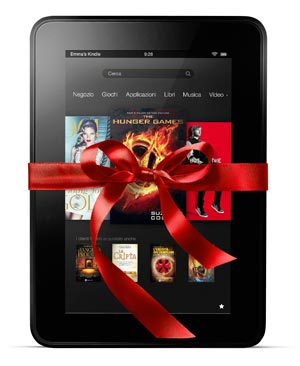 Amazon Kindle Fire HD Natale