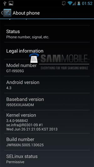 Android 4,3