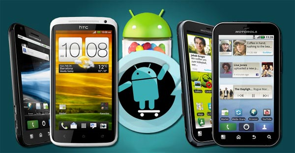 CM10 comes to the Atrix, DEFY, DEFY Plus and One X
