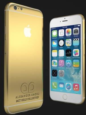Apple iPhone 6 in Oro 24 carati