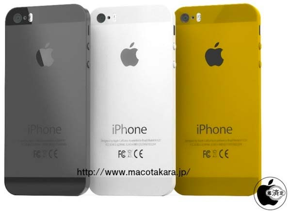 Apple iPhone 5S nero, bianco, oro