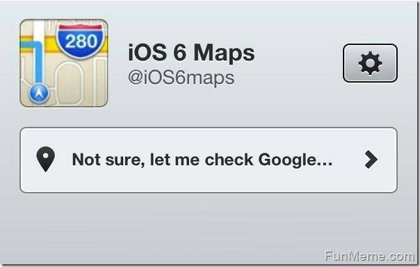 Errori su Apple Maps