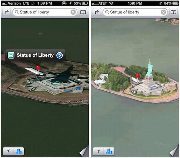 Errori su Apple Maps