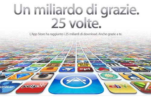 App Store 25 miliardi download