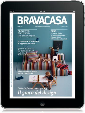 Rcs periodici arrivano le riviste digitali per android 3 0 for Rcs riviste