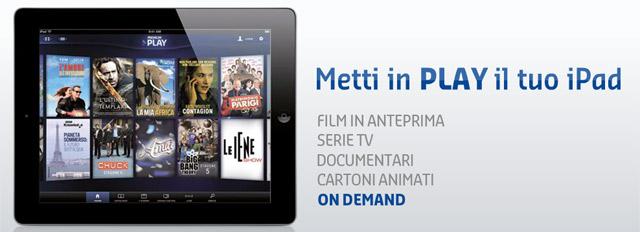Apple ipad ecco opera lego harry potter premium play e for Premium play su smart tv calcio live