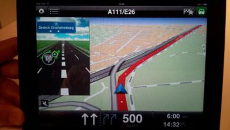 TomTom Apple iPad