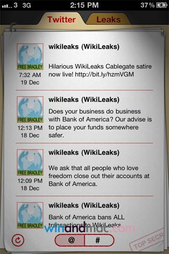 Wikileaks su iPhone
