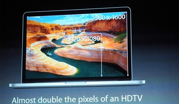 MacBook Pro con display Retina da 13 pollici