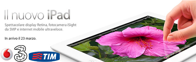 Apple ipad operatori italiani