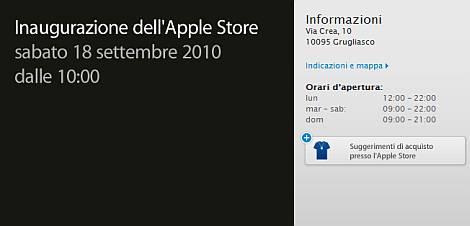 Apple Store a Torino