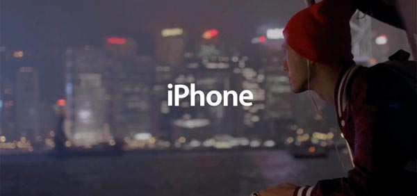 Apple iPhone spot musica