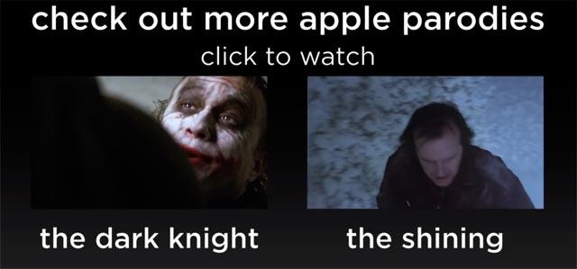 Apple Maps parodie