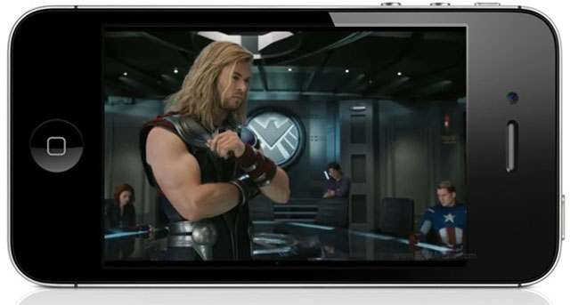 The Avengers iPhone 4