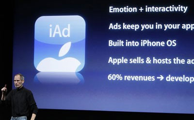 Apple iAd Tim Cook