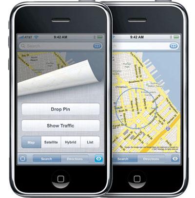 Apple iOS Mappe
