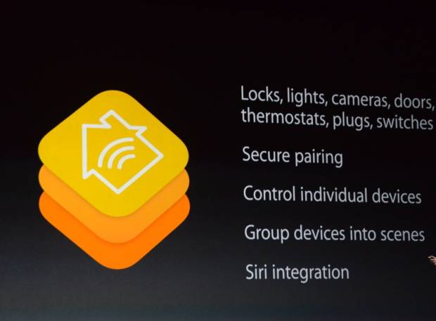 Apple iOS 8 HomeKit
