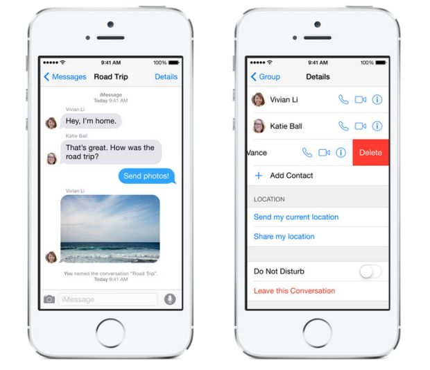 iOS 8 iMessage